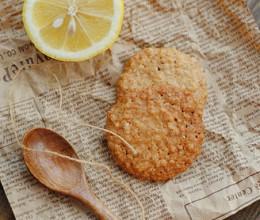 【燕麦片脆饼】香脆的饼干让你每天吃到我