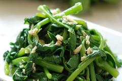 蒜蓉橄榄油拌木耳菜