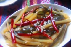 土豆海带丝