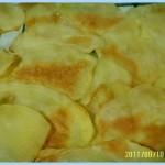 自制烤薯片