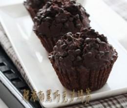 黑巧克力玛芬