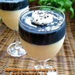 黑芝麻豆浆奶冻