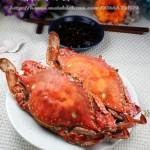 原汁原味的清蒸海蟹