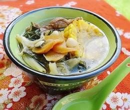 菜干罗汉果汤