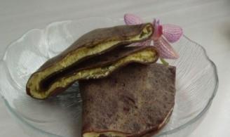 巧克力蛋黄饼