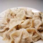 槐花猪肉饺子