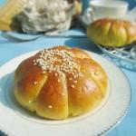 南瓜花形面包