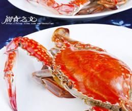 清蒸花雕蟹