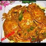 适合大家的胃口~~超辣干咖喱螃蟹