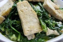 蓬哈菜煎豆腐