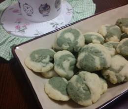 抹茶小石头饼干
