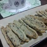 黑芝麻饼干条