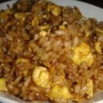 酱油鸡蛋炒饭