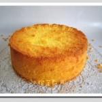 玉米面戚风蛋糕