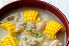 猪手甜玉米汤