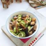 蚝油香菇白菜