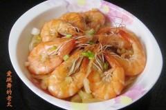 卷心菜炒虾