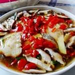 香菇剁椒蒸鳕鱼