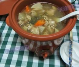 酸萝卜鸭煲