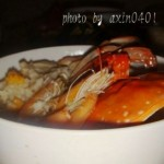 海蟹鮮蝦粥