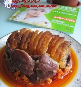 酢辣椒蒸扣肉