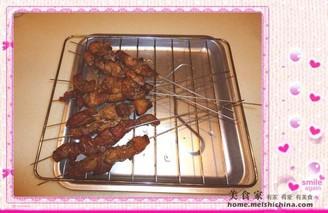 在家轻松吃烤肉串