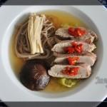 清淡鲜美的日式鸭汤面