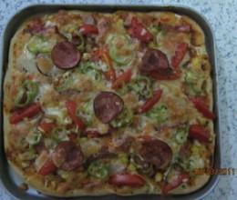 第一次做披萨