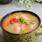 酸萝卜蹄花汤