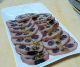黑糯米糖藕
