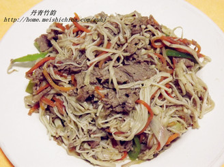 金针肥牛(肥牛金针菇)