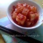 朝鲜开胃小菜之萝卜泡菜~