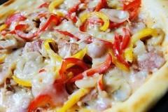 培根蘑菇Pizza