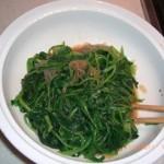 菠菜拌粉絲