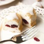 酸奶蔓越莓天使蛋糕