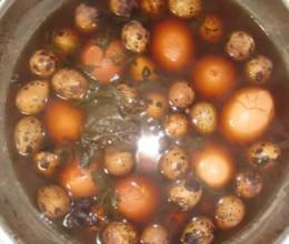 茶叶蛋五香鹌鹑蛋
