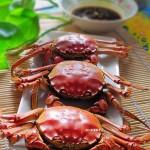 一个人的美味享受清蒸大闸蟹