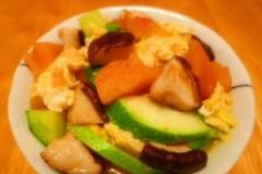 鲜香菇素杂炒