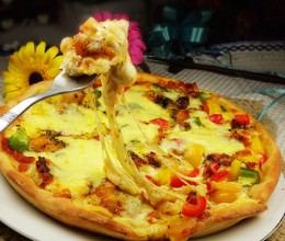 【DIY新奥尔良烤肉披萨】新奥尔良鳕鱼芝