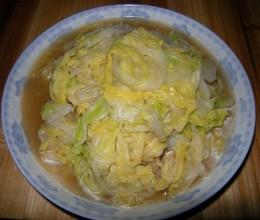 蒜香白菜叶