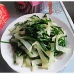 韭菜炒萝卜