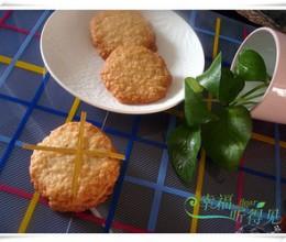 下午茶小点——燕麦片脆饼