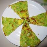 5分钟早餐—包菜蛋饼