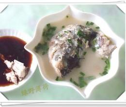 鲢鱼头尾汤