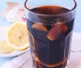 柠檬可乐生姜茶