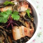 干豆角燒五花肉