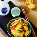 淮山萝卜炒肉片
