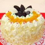 黃桃奶油蛋糕