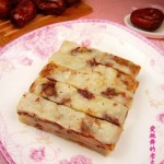 红枣白糖糯米糕