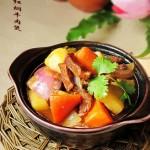 红焖牛肉煲